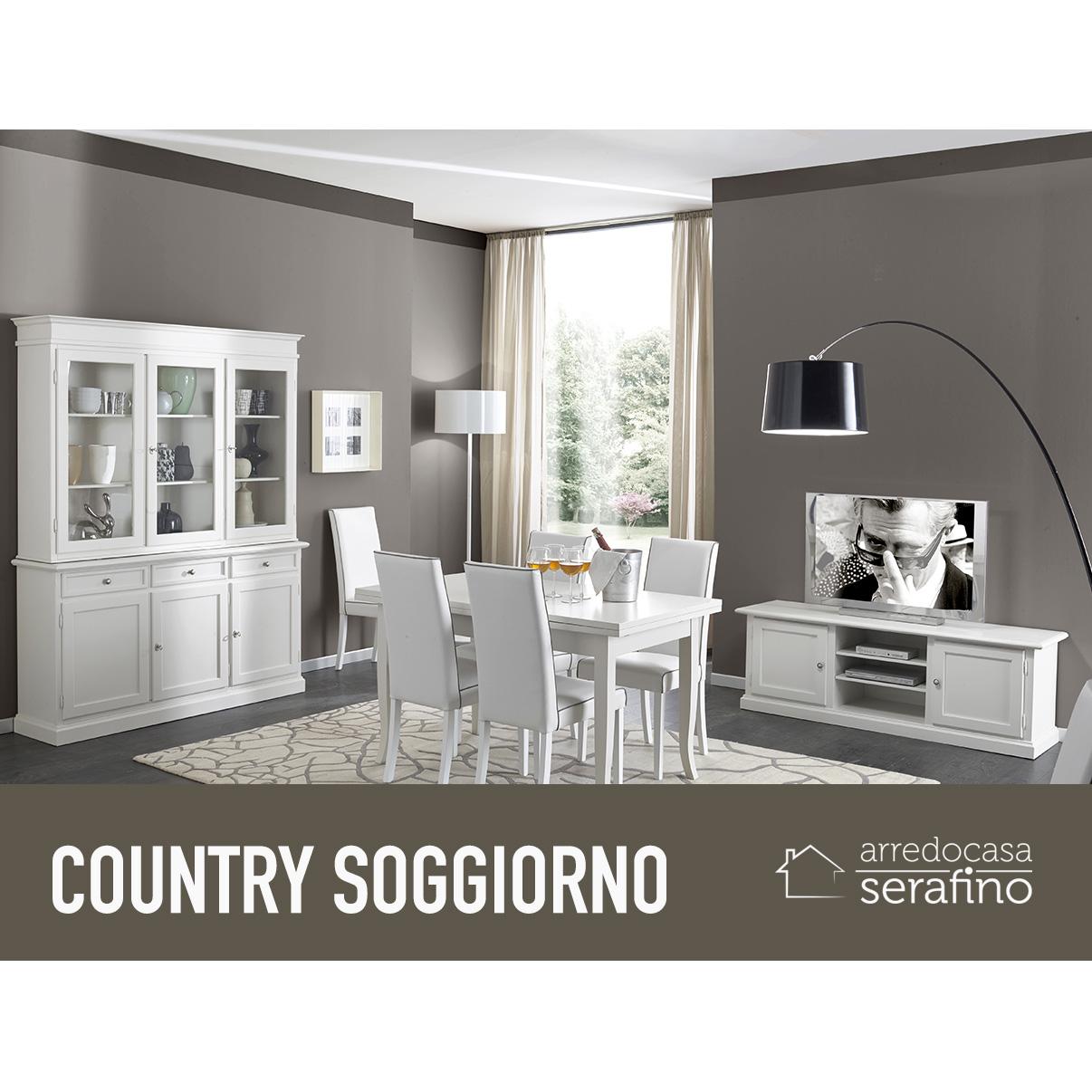 Soggiorno country arredocasa serafino for Soggiorno country