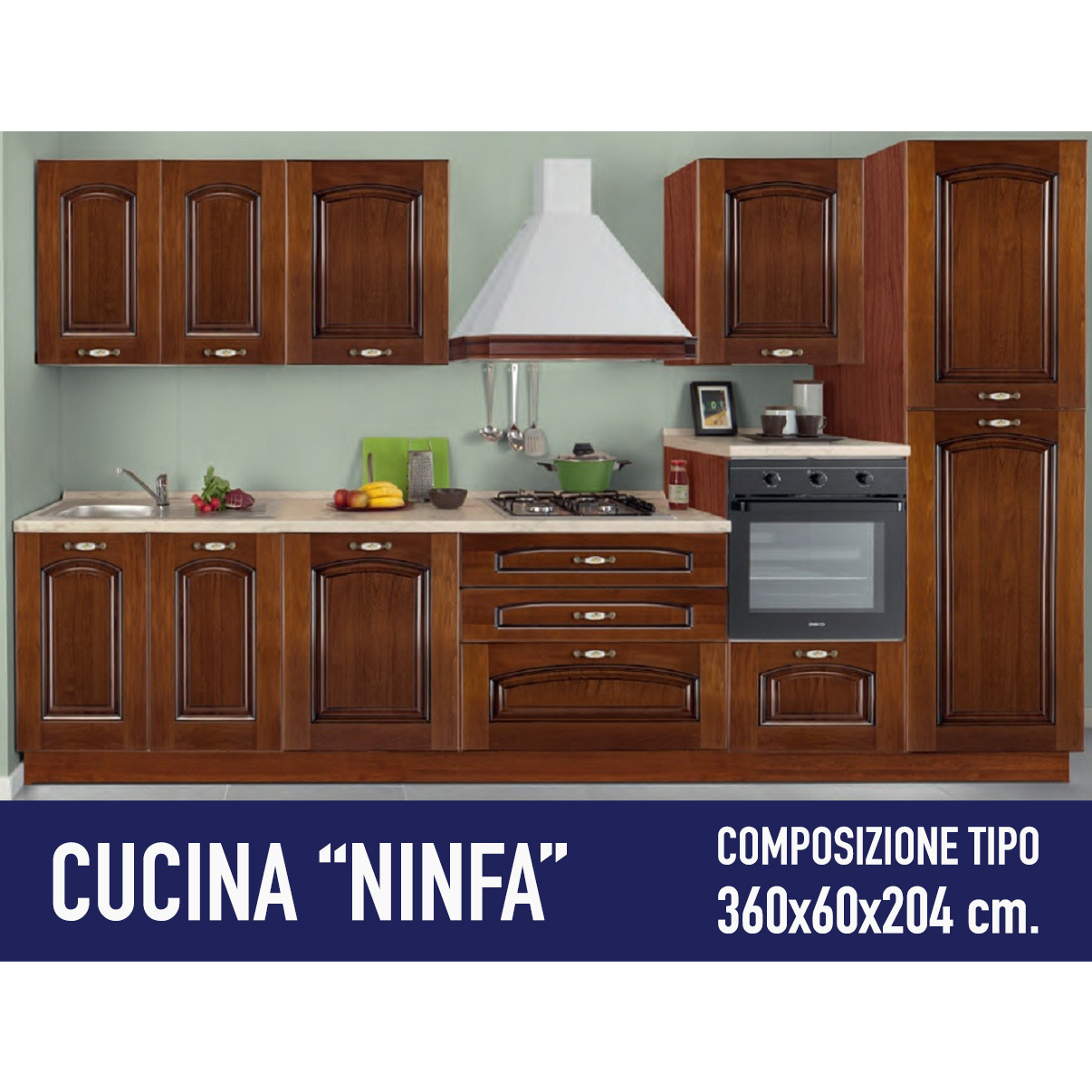 Cucina Ninfa mt. 3,60. – Arredocasa Serafino