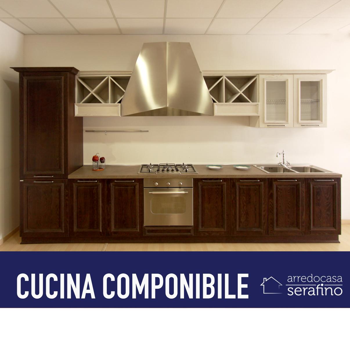 Cucina lineare 02 arredocasa serafino for Cucina lineare offerta