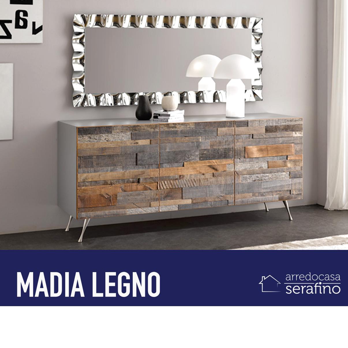 Madia Design in legno. – Arredocasa Serafino