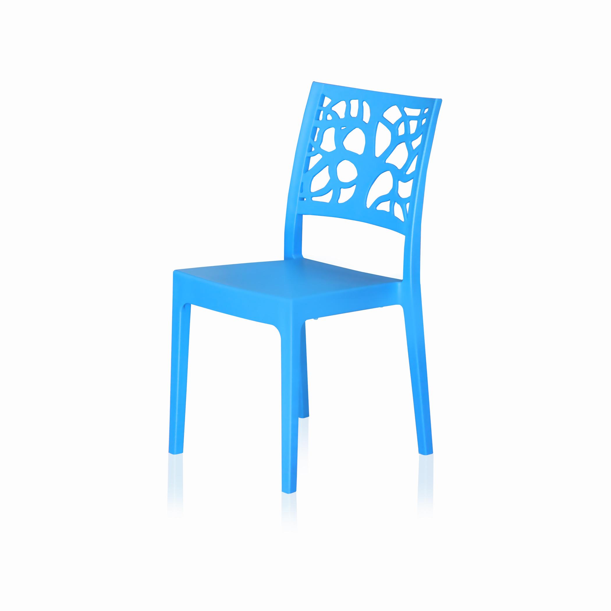 Teti in resina blu pastello (2 pezzi).